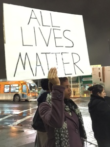 Protesting in Los Angeles